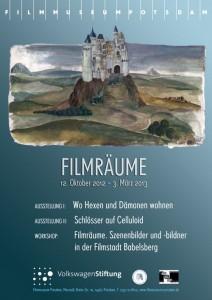 Ausstellungsplakat Filmräume
